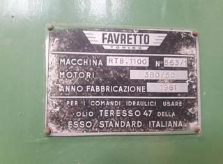FAVRETTO RTB 1100 P210525121