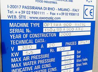 Axomatic Optima 900 P210526088