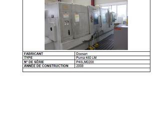 DOOSAN PUMA 480 LM P210528078