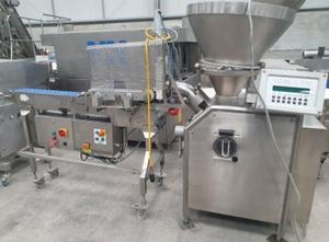 Vemag Robot 500 vacuum filler with Guillotine