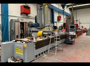 Cnc dikey freze makinesi MECOF  CS 1000