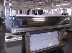 Plochý pletací stroj SHIMA SES 122 FF