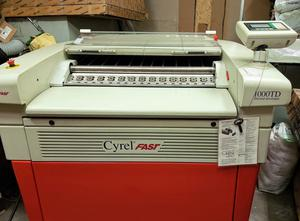 Solventless flexographic plate processor DuPont Cyrel Fast 1000TD