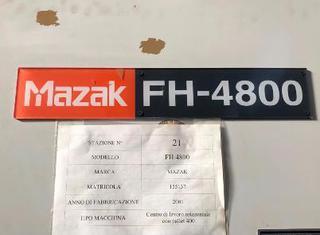 Mazak FH 4800 40 HT WITH PALLET 400 P210601034