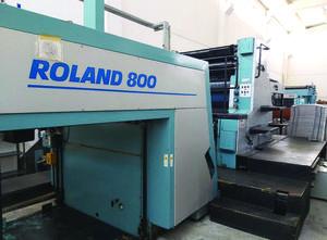 Offset due colori Roland 802 - 6 100x140