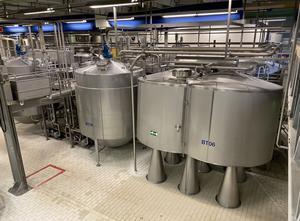 Mlékárenský stroj - výroba sýru, porcování a balení APV - SPX Curdmaster