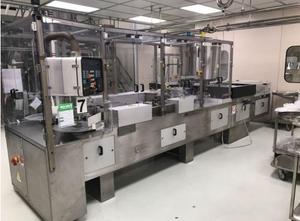 Maszyna do napełniania i zamykania czopków SARONG SAAS15