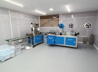 Mask Production line P210608018