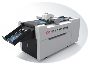 Máquina de postimpresión JET CUTTER PK7553