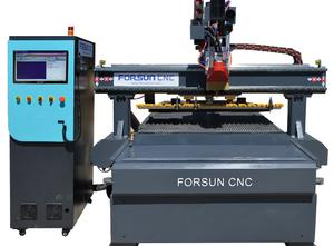 ATC CNC Wood Router Machine with Auto Unloading
