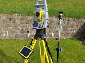 """Leica Geomax Geomax zoom 90 R, A5, 2"""" Messbänk"""