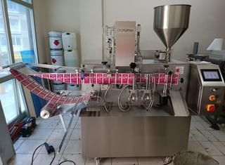 Dorupak Liquid filling and single wet wipes packaging machine P210615134
