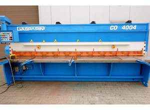 Gasparini CO4004 CNC shears