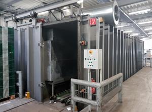 Liofilizator Vacuum cooler system for 15 Pallets