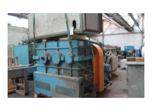 Máquina para reciclar el plástico Union 120mm -L/D 35