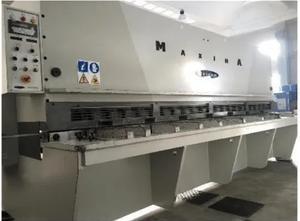 Cisaille guillotine hydraulique WARCOM MAXIMA 40-04