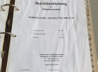 Jorns NORMA-LINE-125-SO-CNC-400-A-10 P80726006