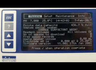 Sirius PCA 200 PKa LogP LogD Titrator P00204087