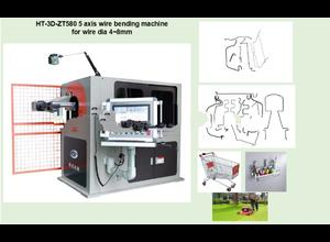 Hui Ting wire bending machine 4-8mm HT-3D-ZT580A for kitchen utensils and table ware brackets