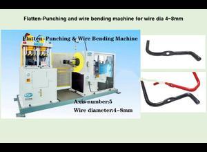 Changzhou Hui Ting Machinery Co., Ltd Flatten-Punching & Wire Bending Integrated Machine Federmaschine