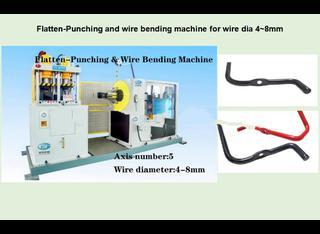 Changzhou Hui Ting Machinery Co., Ltd Flatten-Punching & Wire Bending Integrated Machine P00617005