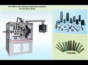 HT-Y560 CNC Spring Compression Machine 5 axis spring machine wire dia 2-6mm