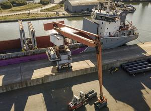 Balance material handler - equilibrium crane SOBEMAI 9T-31.6M