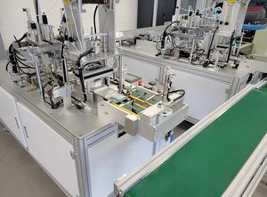 CHINE Surgical masks Line - CE - Machine spéciale pour fabrication de masques CHIR Complete plant