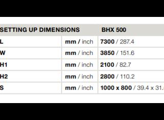 Homag Optimat BHX 500 P210702009