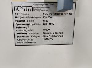 Forno di rifusione Rehm V6