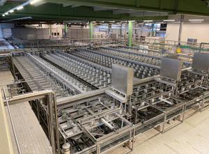 Mlékárenský stroj - výroba sýru, porcování a balení Tetra Pak/De Klokslag Casomatic SC/T-64