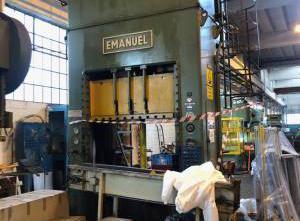 Emanuel 200 ton H-Frame metal press