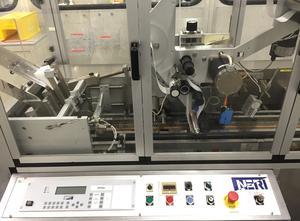 Neri ETA 400 Typ S Haftetikettiermaschine zur Obenaufetikettierung (Vignette) von Faltschachtelzuschnitten, etc.