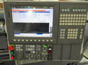 Centrum obróbcze z wymianą palet Okuma Genos L400E
