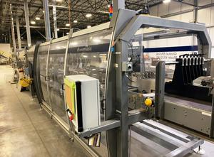 Tvarování termoplastů - Tvarující, plnící a  uzavírací linka Hartness 4520