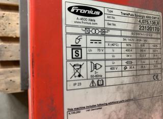 ABB, FRONIUS IRB1600, IRBP R-300, FRONIUS TPS4000CMT P210715095