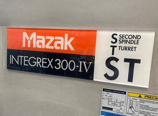 MAZAK Integrex 300 IV-ST P210720131