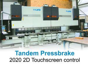 LVD PPEB 350 ton x 8100 mm Press brake cnc/nc