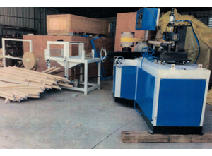 Quanzhou Chuangda Macinery Manufacture Co.,Ltd CDH-1575-YE Full Automatic Trimming, Sealing, Embossing, and Perforating Rewinder with Automatic Toilet Roll Log Saw Machine