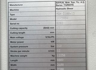 Baykal MGH 3100x13 P210722054