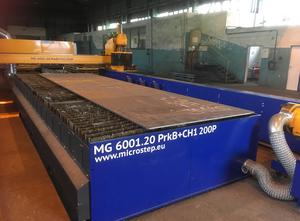 Microstep MG 6001.20 PrkB+CH1 200P Schneidemaschine - Plasma / gas