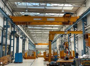ABUS - VS (2x) Pillar JIB Crane 5500 x 5000 x 1000 Kg Hoister