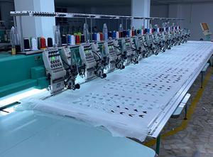 Tajima TLMX Многоголовочная вышивальная машина