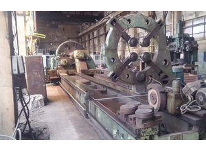 Skoda SR 2000x10000 heavy duty lathe