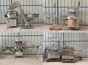 R.Deckert / King / Cam Automatic counting and filling line for bottles Машина для наполнения флаконов/ампул
