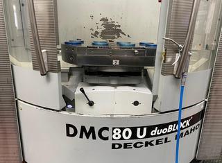 Deckel Maho DMC 80 U duo block P210804091
