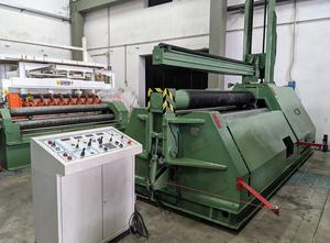 2500x15 mm 4roll used plate bending machine