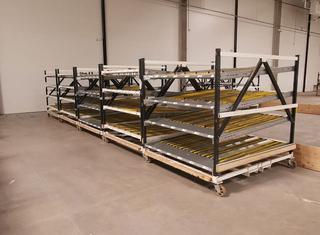 5 chariots 2x2m roulant P210806032