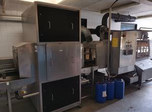 Máquina de corte, lavado y blanqueado de verduras y frutas HYGINOX no