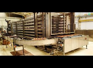 Taśmociąg Den Boer tray production line